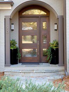 56 beautiful farmhouse front door design ideas and decor 2 - Home Design - Home Door Design, Design Garage, Design Exterior, Front Porch Design, Main Door Design, Entrance Design, Entrance Ideas, Entryway Ideas, Porch Designs