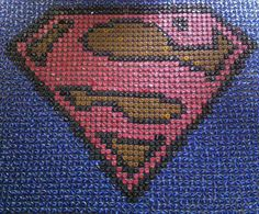 Items similar to Superman Bottle Cap Art on Etsy Beer Cap Superman Logo Mosaic Bottle Top Art, Bottle Cap Table, Beer Bottle Caps, Beer Bottles, Bottle Cap Projects, Bottle Cap Crafts, Man Cave Upcycle, Beer Cap Crafts, Beer Cap Art