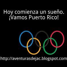¡Vamos Puerto Rico!  ¡Viernes victorioso!  #viernes #viernesvictorioso #hoycomienzaunsueno #olimpiadas #rio2016 #vamospuertorico #yosoyboricuapaquetulosepas #puertorico #boricua #motivacion #transformacion #aventurasdejac