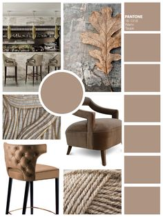 WARM TAUPE | Fall 2016 Color Trends According To Pantone | Home Decor. Interior…