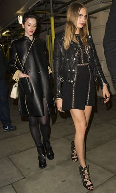 Cara Delevingne and St. Vincent's Couple Style Is Crazy, Sexy, Cool