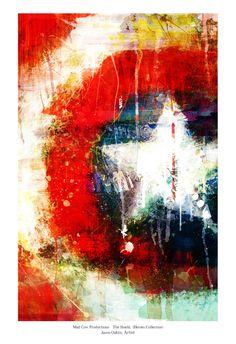 Bellas Artes se une al arte cómico El Escudo lámina por j2artist, $15.00