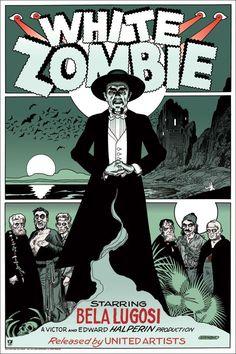 Mondo's 'WHITE ZOMBIE' Poster On-Sale Info!