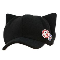 Cat Ears Plush Cap