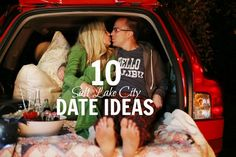 10 fun go-to date ideas in Salt Lake City for you and your beau! Must pin!