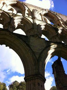 Arches at Rievaulx Abbey