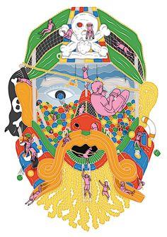 Matt Johnstone illustration, Make maps