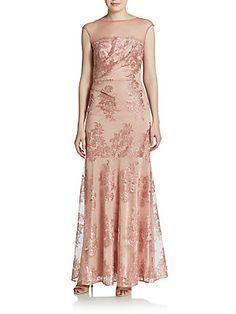 Sale under $200 was $680 Illusion Lace Trumpet Gown