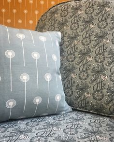 Angie Lewin's 'Dandelion One' and 'Dandelion Two' fabric designs for St Jude's