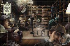 """Campaña de fomento de la lectura con Sherlock Holmes La Asociación de Editores de Madrid lanza estos dos anuncios en junio de 2014, con el lema """"Leer estimula tu imaginación"""". El mensaje está claro, la lectura fomenta la creatividad, así que podemos hacer nacer tantos """"Sherlocks"""" o """"Cyranos"""" como queramos."""