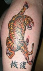 Realistic claw mark tattoo cool and cute tattoos for Black claw tattoo