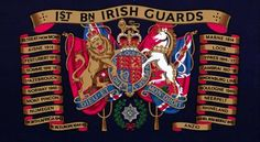 1st Bn The Irish Guards Military Units, Military Art, Military History, Queens Guard, Drums Art, British Uniforms, Royal Guard, King And Country, Flags Of The World