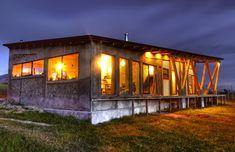 Outside IN House, Puerto Natales, Chile. | Fernanda Vuilleumier Studio