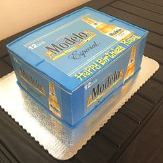 Discover recipes, home ideas, style inspiration and other ideas to try. Beer Birthday Party, Backyard Birthday Parties, Birthday Cookies, Surprise Birthday, 33rd Birthday, Men Birthday, Birthday Cake, Stella Beer, Modelo Beer