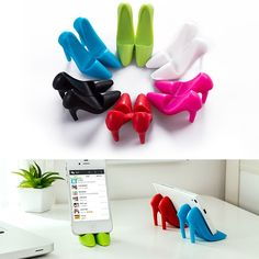 Universal Cartoon Heels Shoes Cell Phone Desk Stand Holder for Samsung iPhone | eBay