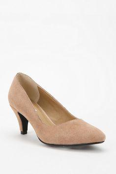 MIU MIU Suede Kitten Heel Pumps | Yea! Kitten heels | Pinterest