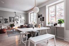 mały apartament w stylu skandynawskim