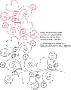 Love Doodles Corner by Patricia Ritter / Urban Elementz  PR0225
