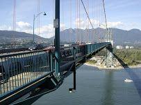 Lions Gate Bridge - von dort soll man einen guten Blick auf die Stadt haben  555 W Hastings St, Vancouver, BC V6B 4N6, Kanada