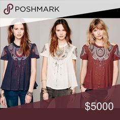 ISO Free People Top in XS or S please!!! 😀 Please help me find this fellow poshers. Thank you for helping! Free People Tops Tees - Short Sleeve