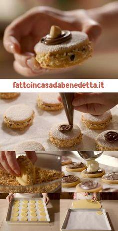 Italian Cookies, Italian Desserts, Mini Desserts, Biscotti Cookies, Cake Cookies, My Favorite Food, Favorite Recipes, Holiday Cookies, Chocolate Recipes