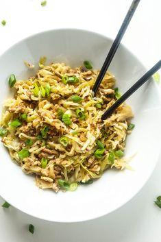 Keto Egg Roll in a Bowl [Recipe] - Keto Crack Slaw