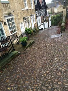Cobbles in Knaresborough, North Yorkshire. Beautiful, British & Quaint