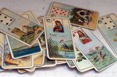 Antique Fortune Telling Cards