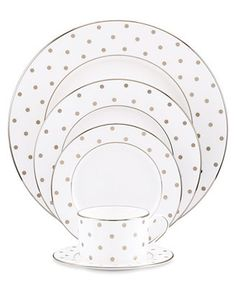 kate spade new york Larabee Road 5 Piece Place Setting NEED WANT HAVE TO HAVE