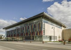 Northwest corner of the Pan Am facility in Downtown Markham, image by Jimmy Wu