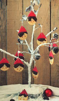 """Cómo he disfrutado haciendo estas galletas!! El """"árbol"""" que veis en las imágenes es el que tengo en casa. Un buen amigo mío que acostumbra a..."""
