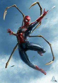 Marvel Avengers, Iron Man Avengers, Marvel Dc Comics, Marvel Fanart, Marvel Heroes, Spiderman Marvel, Parker Spiderman, Marvel Characters, Marvel Movies