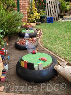 Tire play - Puzzles Family Day Care ≈≈