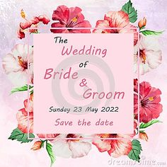 Illustration about Wedding invitation card with flowers, and dividers, ideal for weddings. Pink and grey colors. Illustration of flowers, background, color - 111591292 Grey Colors, Wedding Invitation Cards, Dividers, Pink Grey, Bride Groom, Save The Date, Weddings, Illustration, Flowers