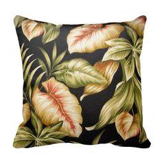 Tropical Leaves & Ferns - American Mojo Pillow http://www.zazzle.com/tropical_leaves_ferns_american_mojo_pillow-189210813283671187?rf=238909315443825159&tc=pinterest