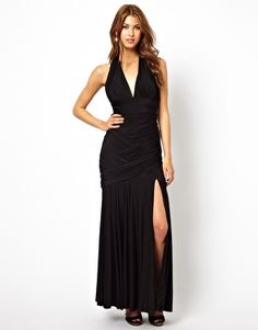 Image 1 ofForever Unique Maxi Dress With Bandage Detail