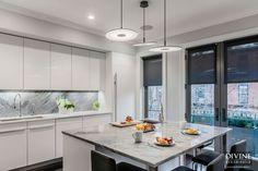 White kitchen design #modern #kitchenideas