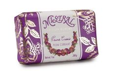 Mistral Edition Boheme Soap, Plum Currant, 200 Grams Bar by Mistral. $9.00. Finished product not tested on animals. Mistral shea butter soap is recommended for everyone even those with sensitive skin. Does not leave a residue and skin feels soft and silky. Contains organic shea butter and the highest quality oils of olive palm or coconut. Enriched with skin-softening organic coconut oil. Mistral shea butter soap is recommended for everyone even those with sensitiv...