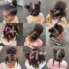 Black Baby Hairstyles, Cute Toddler Hairstyles, Easy Little Girl Hairstyles, Natural Hairstyles For Kids, Kids Braided Hairstyles, Natural Hair Styles, Baby Hair Growth, Hair Twist Styles, Girl Hair Dos