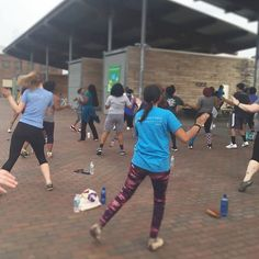 We had a blast doing zumba at Railroad Park! They offer bootcamp, zumba, yoga, and jazz classes for free from March-October. We're definitely going back, see ya there! #PACKhasyourBACK #goteam #railroadpark #zumba