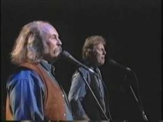 Blackbird - Crosby, Stills & Nash. Can tell this is live, because he makes a mistake on the guitar and they start again. Whatever happened to live performances, instead of prerecorded music with lip synching? Go, Kid Rock, and tell it like it is.