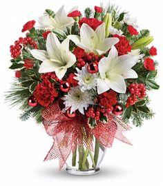Christmas Flowers www.mancusos.com