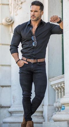Style vestimentaire homme sportif 21 New ideas Stylish Mens Outfits, Casual Summer Outfits, Outfit Summer, Mode Masculine, Fashion Mode, Fashion Outfits, Fashion Styles, Dope Fashion, Fashion Fall