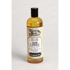 Vermont Soap Organics - Lemongrass Liquid Aloe Castile Soap 16oz >>> Check this awesome product by going to the link at the image. (This is an affiliate link and I receive a commission for the sales)