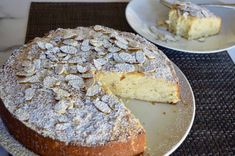 Italian Almond Ricotta Cake is the perfect Italian dessert. This recipe is full of flavor and so simple to make with ricotta cheese and almond extract. Don't miss this recipe perfected for the best Almond Ricotta Cake! Ricotta Dessert, Ricotta Cake, Ricotta Cheesecake, Raw Food Recipes, Cookie Recipes, Dessert Recipes, Candy Recipes, Dessert Ideas, Baking Recipes