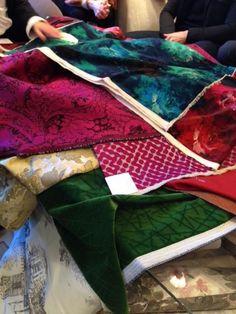 Novos tecidos da Rubelli lançados na Paris Decor Off logo chegarão ao showroom da Safira