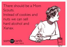 Mom Scouts, I think I would cut too much into the profits ;-)