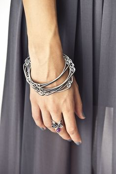 Bracelet and Rings   Tass Joies Designs.  Photography by Cristina Fado