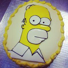 Gâteau Simpson - (www.mllesgateaux.com)