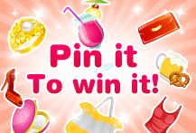 Pin your favorite items to your very own Bingo Island Pin board. Tag your pins with #BIpin2win